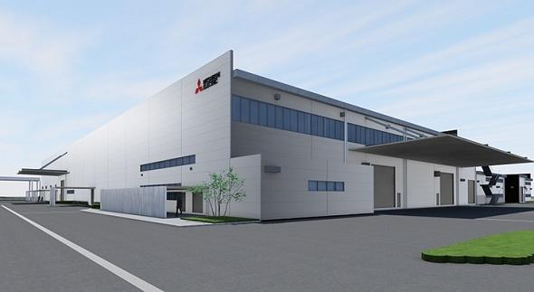新工場の完成イメージ