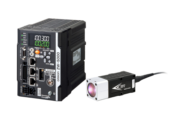 オムロンのファイバー同軸変位センサー「ZW-5000」 出典:オムロン