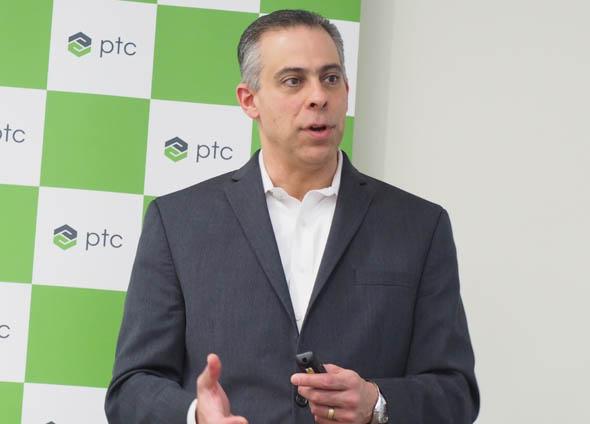 米PTC CADセグメント シニアバイスプレジデントのブライアン・トンプソン氏