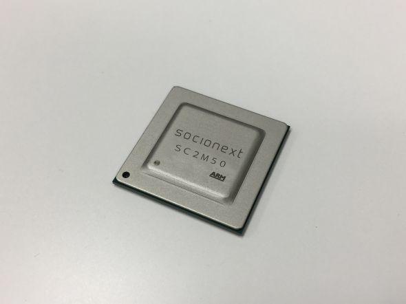 HEVC/H.265コーデックLSI「SC2M50」