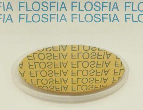 4インチウエハー上金成膜 出典:FLOSFIA