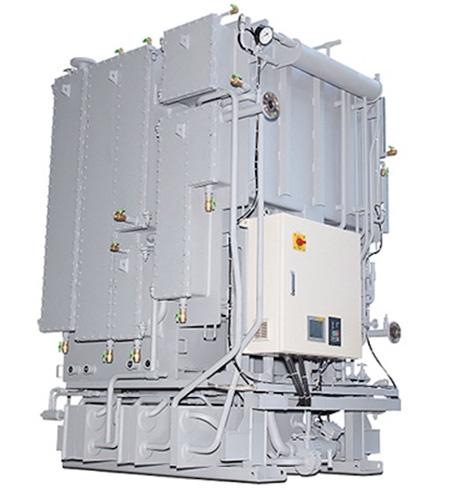 開発した新型吸収冷凍機(クリックで拡大) 出典:NEDO