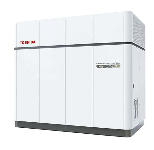 東芝の100kW純水素燃料電池システム