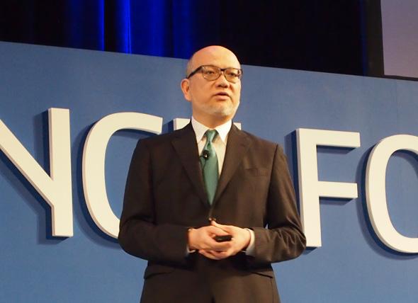ダッソー・システムズ主催「3DEXPERIENCE FORUM Japan 2017」の特別講演に登壇した、関西学院大学 経営戦略研究科 教授の玉田俊平太氏