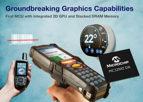 マイコン「PIC32MZ DA」ファミリー 出典:マイクロチップ・テクノロジー