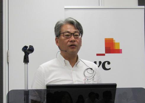 セミナーに登壇したPwCコンサルティング 白石章二氏
