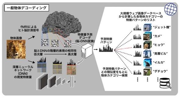 一般物体デコーディングの概要図(クリックして拡大) 出典:京都大学