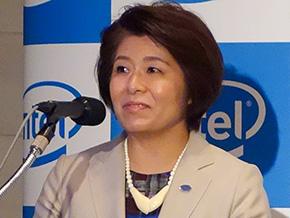 インテル社長の江田麻希子氏
