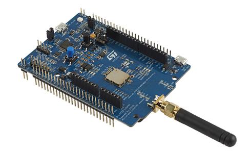 IoT機器向けのセキュリティソリューションを組み込んだLoRaWANモジュール 出典:STマイクロエレクトロニクス