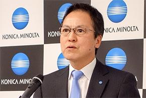 コニカミノルタジャパン 代表取締役社長の原口 淳氏