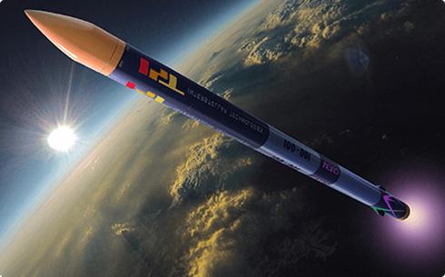 小型観測用ロケット「MOMO」初号機