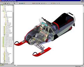 「SolidWorks 98」の画面イメージ