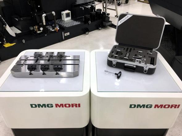 ビルトインバイスの実物イメージ 出典:DMG森精機