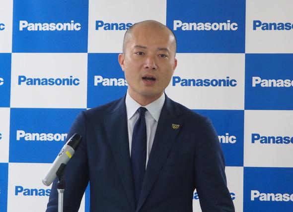 パナソニック ビジネスイノベーション本部 副本部長 兼 パナソニックノースアメリカ 副社長の馬場渉氏