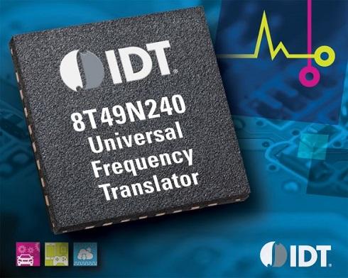 ユニバーサル周波数変換器「8T49N240」