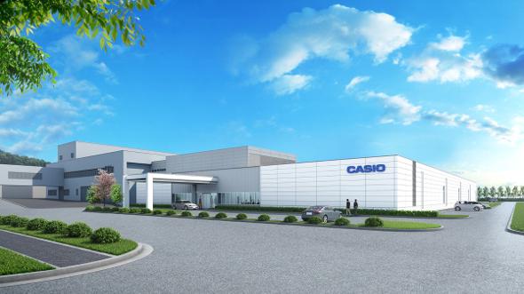 山形カシオ新工場の完成予想図 出典:カシオ計算機