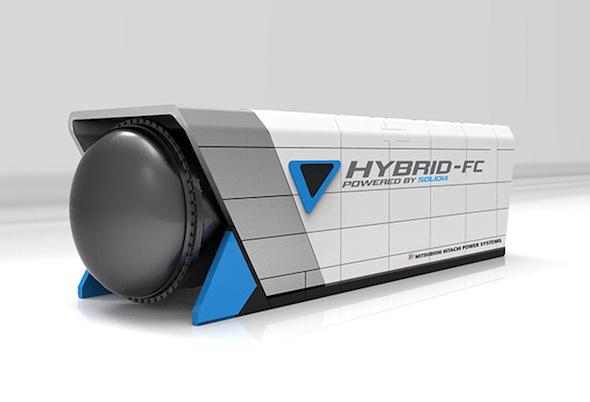 販売を開始した加圧型複合発電システム(クリックで拡大) 出典:MHPS