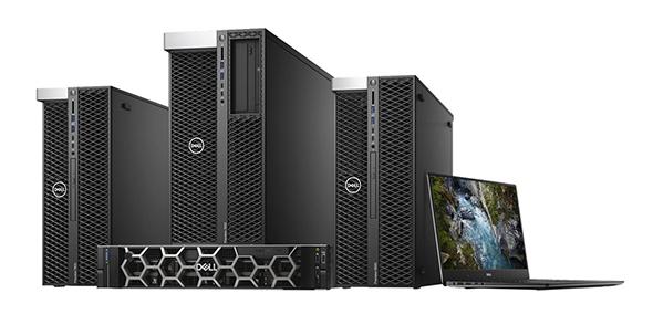 「Dell Precision 5820 タワー/Precision 7820 タワー/Precision 7920 タワー」「Dell Precision 5520 20周年記念モデル」「Dell Precision 7920 ラック」