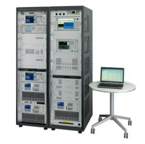 GCF認証テストケースを搭載したテストシステム「ME7873LA」