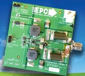 60WのE級アンプ開発基板「EPC9083」