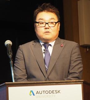 不二精機 開発設計部 開発室 課長代理の前田拓雄氏