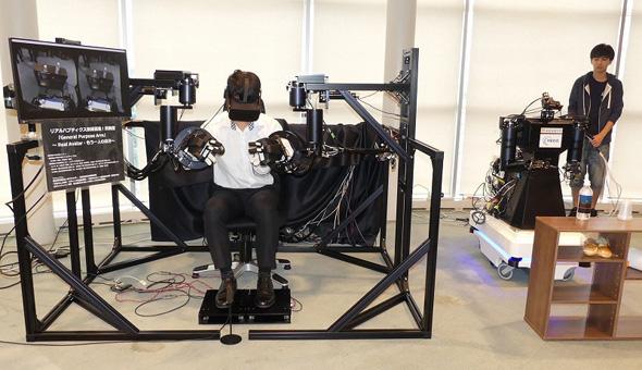 身体感覚を伝送可能な双腕型ロボット「General Purpose Arm」