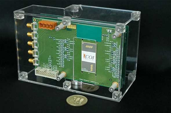 非接触ミリ波バイタルセンサー