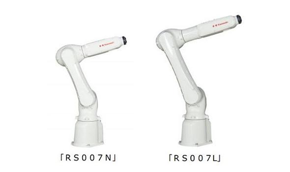 6軸垂直多関節ロボット「RS007N」「RS007L」