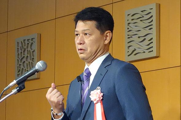 アラスジャパン 社長 久次昌彦氏