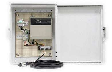 「IoTerminal for BCP -水位計測-」 出典:オムロン