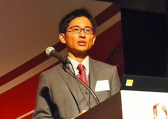 トレンドマイクロ プロダクトマーケティング本部 プロダクトマーケティングマネージャーの上田勇貴氏