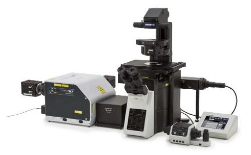 スピニングディスク型共焦点超解像顕微鏡「SpinSR10」 出典:オリンパス