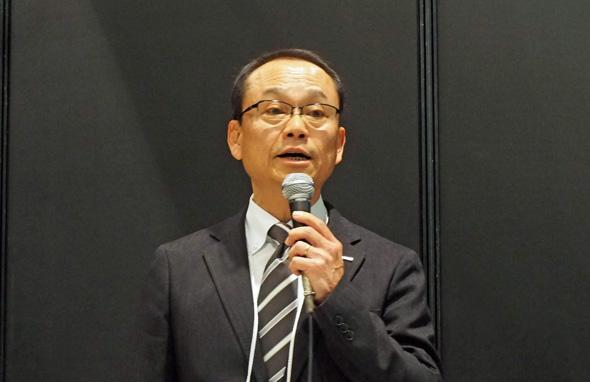 オムロン インダストリアルオートメーションビジネスカンパニー ロボット推進プロジェクト 池野栄司氏