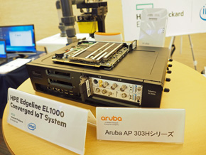 HPEのエッジサーバ製品「HPE Edgeline EL1000 Converged IoT System」