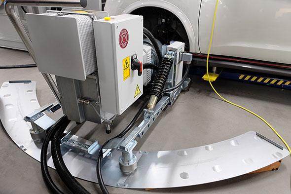 東陽テクニカの統合試験システム「Driving&Motion Test System(DMTS)」