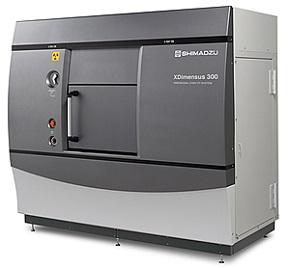 計測用X線CTシステム「XDimensus 300」 出典:島津製作所