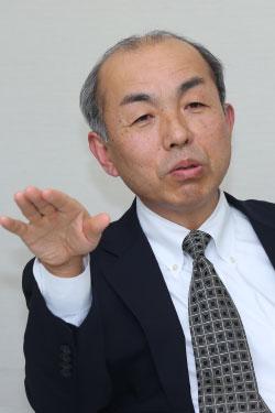 横浜ゴム 常務執行役員IT企画本部兼タイヤ物流本部本部長の鈴木忠氏