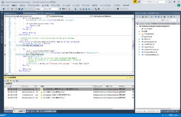 Visual Studio 2017にプラグインしたdotTEST 10.3.3(出展:テクマトリックス)