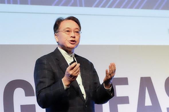 ルネサス エレクトロニクス 代表取締役兼CEOの呉文精氏