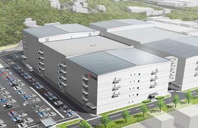 新工場棟(20工場)完成予想図 出典:京セラ