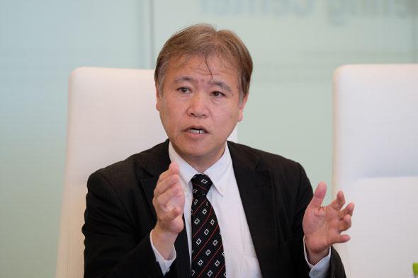 フォーティネットジャパン 岩崎和男氏(新規ビジネス開発本部 IoT/ICSビジネス開発 特任部長)