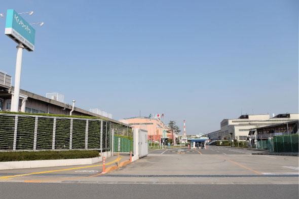クボタの枚方製造所(大阪府枚方市)