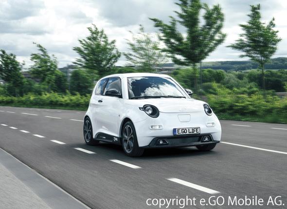 e.Go Mobileが開発した4人乗りの電気自動車