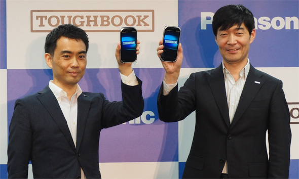 パナソニック モバイルコミュニケーションズは小型、軽量の5.0型頑丈ハンドヘルド「TOUGHBOOK FZ-T1」を発表