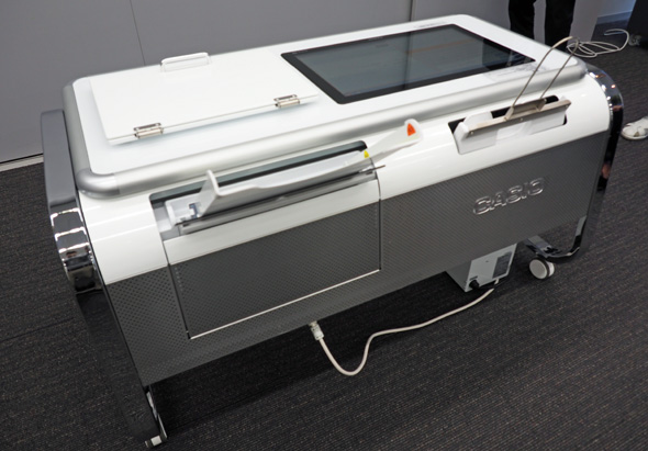 カシオ計算機が開発した2.5Dプリントシステム「Mofrel(モフレル)」