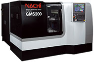 スカイビング複合加工機「GMS200」 出典:不二越