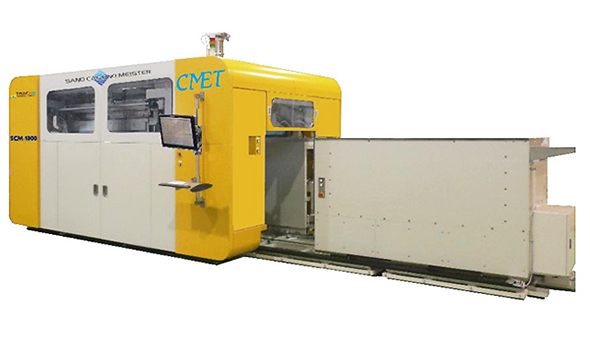 鋳造用砂型3Dプリンタ「SCM-1800」 出典:NEDO