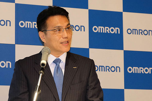オムロン 代表取締役 CEO 山田義仁氏