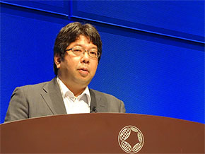 経済産業省 サイバーセキュリティ課の土屋博英氏(サイバーセキュリティ技術戦略企画調整官)