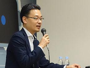 パナソニックの井上昭彦氏(ビジネスイノベーション本部 AIソリューションセンター 戦略企画部 部長)